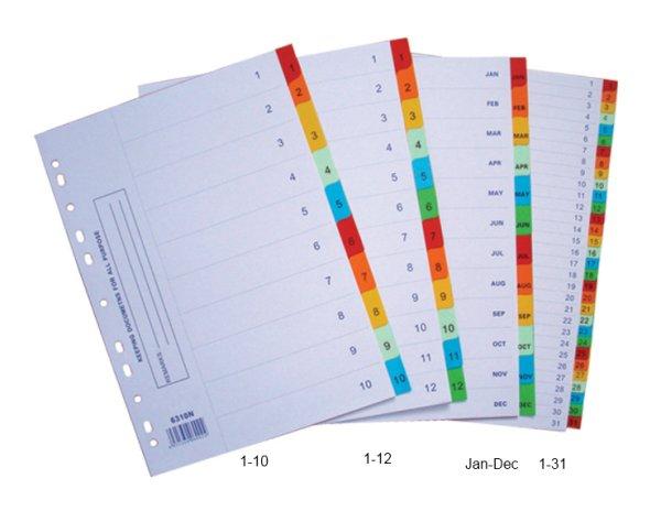 Paper Colour  Dividers