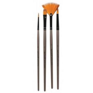 Acrylic Brush Set  4pcs  BMHS0010