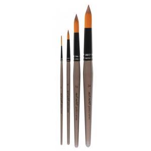 Acrylic Brush Set  4pcs  BMHS0018